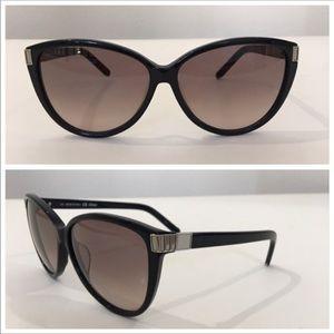 Authentic black CHLOE cat eye sunglasses